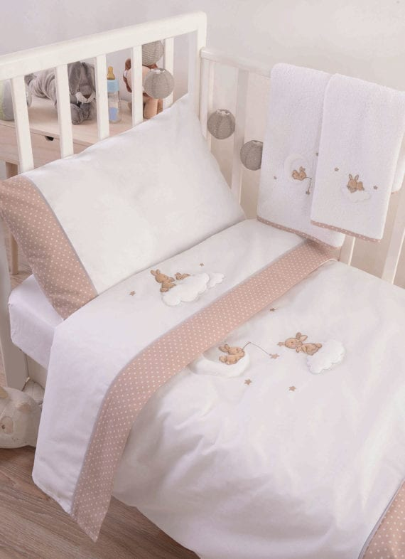 rabbit beige sheets