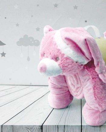 Dog Pink - Κουβέρτα bebe Makis Tselios - morfeohome