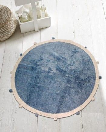 Pom Pon Blue - Πατάκι Μπάνιου Makis Tselios - morfeohome