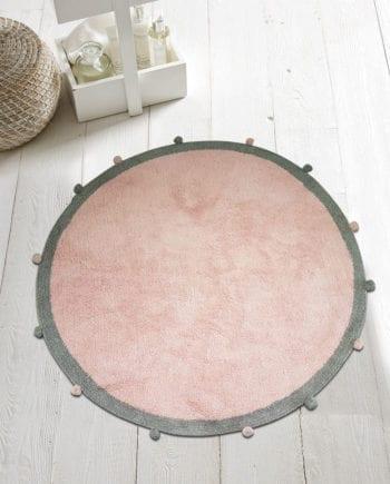 Pom Pon Pink - Πατάκι Μπάνιου Makis Tselios - morfeohome
