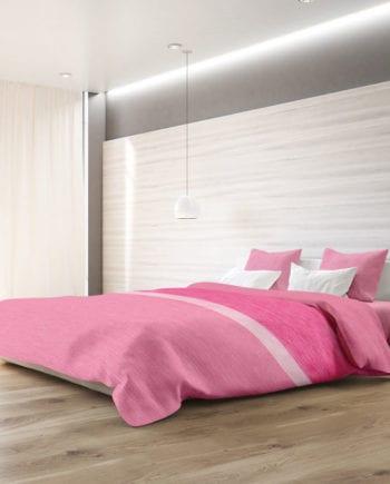 Exotica Pink - Σετ Κουβερλί Υπέρδιπλο 220Χ240 Makis Tselios - morfeohome
