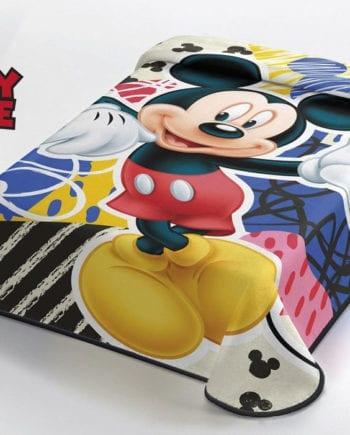 Mickey Mouse - Κουβέρτα Μονή 160Χ220 Disney Belpla - morfeohome