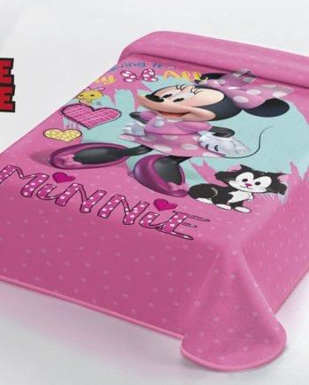 Minnie Mouse - Κουβέρτα Μονή 160Χ220 Disney Belpla - morfeohome