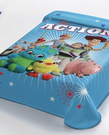 Toy Story 4 - Κουβέρτα Μονή 160Χ220 Disney Belpa - morfeohome